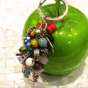 Grape Keychain